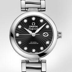 La Cote des Montres : Prix du neuf et tarif de la montre Omega - Ladymatic - 425.30.34.20.51.001 - 5,900 euro
