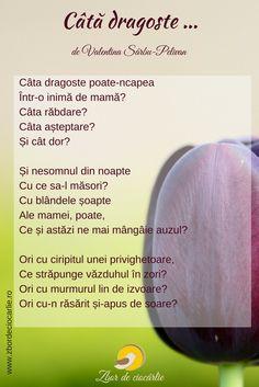 Poezii mama, poezii de Valentina Sarbu-Pelivan Cata