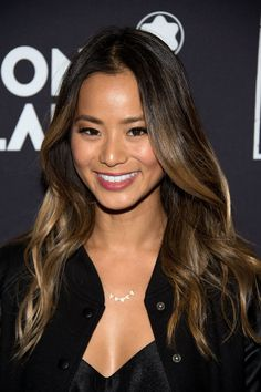 Jamie Chung Shows Off Her Fresh New Blond Ombré