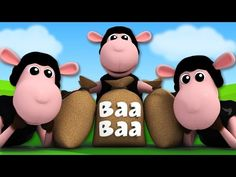 Baa Baa Black Sheep sounds like a nursery rhyme that'll make the winter holidays a little more fun than usual. Watch it! Nursery Rhyme Crafts, Nursery Rhymes Preschool, Baby Songs, Kids Songs, Learning The Alphabet, Fun Learning, Dave And Ava, Circle Time Songs, Rhymes Video