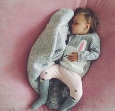Baby bunny sweater