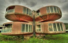 As casas mais bizarras e surpreendentes ao redor do mundo