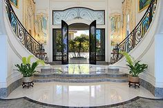 Foyer - grand staircase