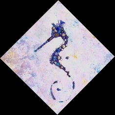 Seahorse Fading From Exhistance by lalainyastream on Etsy, $1700.00