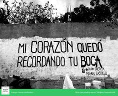 Acción Poética Rafael Castillo  #paredes