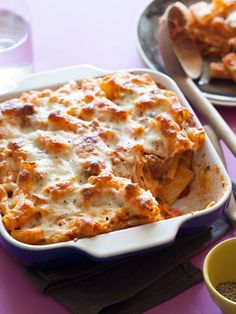 Baked Ziti by Spoon Fork Bacon #dinner #pasta #recipes