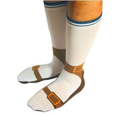 Hauskat sandaalisukat