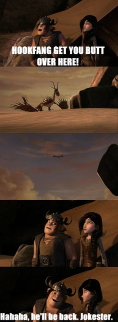 HTTYD Riders of Berk Lol, love this part. I hope we'll see Heather again as a woman.