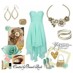 Special occasion perfection. Mint and gold combo with Premier Designs! lovelybydesign.mypremierdesigns.com access code: glam