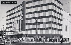 Cinema Treasures is the ultimate guide to movie theaters Movie Theater, Theatre, Blackpool, Once Upon A Time, Times Square, Cinema, Photoshoot, Travel, Movies