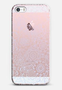 Delicate Lace Pattern (Spring Lilacs) iPhone 6 case by Laurel Mae | Casetify