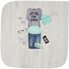School!!!!;) by amberwaller245 on Polyvore featuring polyvore, fashion, style, maurices, Boohoo, H&M, Atmos&Here, Kenny & Co., Geneva, Glitzy Rocks, Jac Vanek, Eichholtz and Converse