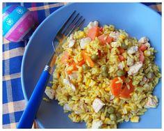 Pozytywne żywienie - dietetyka od przyjemnej strony: a la risotto z kurczakiem i warzywami