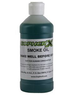 Gopher X Smoke Oil - 1 Pint