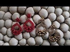 Beaded Flowers Patterns, Beaded Bracelet Patterns, Jewelry Patterns, Seed Bead Jewelry, Bead Jewellery, Beaded Jewelry, Handmade Jewelry, Diy Schmuck, Schmuck Design