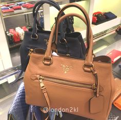 We are heading to Bicester Village on Tuesday 31st January 2017. Prada 1BG044 RM3,146 ❤❤it?  WhatsApp me on +44 7535 715 239 for orders now.  Once it's gone, it's gone!  See even more #L2KLbv #L2KLbv #L2KLbv