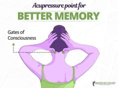 Acupressure for better memory Acupressure Therapy, Acupressure Massage, Acupressure Treatment, Acupuncture Points, Acupressure Points, Natural Health Tips, Natural Health Remedies, Yoga Mantras, Health And Fitness Articles
