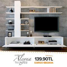 Home Design Ideas Wall Unit Designs, Tv Stand Designs, Living Room Tv Unit Designs, Tv Unit Furniture Design, Tv Furniture, Tv Unit Decor, Tv Wall Decor, Tv Cabinet Design, Tv Wall Design