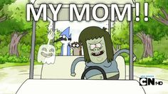 Regular Show Cartoon trop cool RIGBY /& Mordecai Sweat