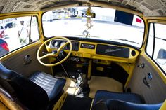 VW T2 Interior - What a View!                                                                                                                                                                                 More