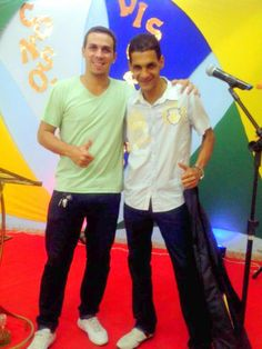 David Nascimento e Pr. Rodrigo Andrade