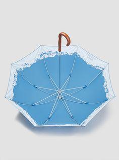 Inside Mountain Umbrella Blue