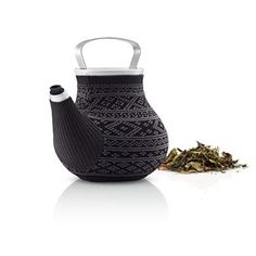 The beautiful teapot My Big Tea that is made in porcelain from Eva Solo comes in a nice case that allows the teapot to hold the heat while the case gives it a stylish look! Available in two lovely colors.