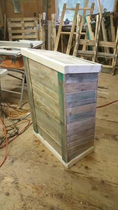 Podium prototype | Pallet podium/blueprint or drafting table ...