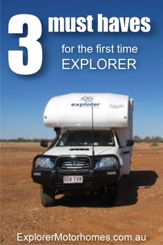 If you're heading out on your first trip exploring Australia in your motorhome, here are 3 things that we couldn't do without. Everyone is different and travels differently, but these will get you thinking about what is important for you to pack in the motorhome, caravan or campervan. #motorhomeAustralia #travelAustralia