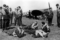610 Squadron, RAF Biggin Hill, at the height of the Battle of Britain in August 1940.