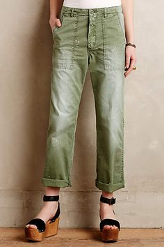 Closed Clyde Chinos - anthropologie.com #anthrofave