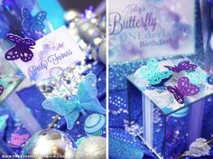 butterfly printables for Winter Butterfly Birthday - via the Creative Orchard