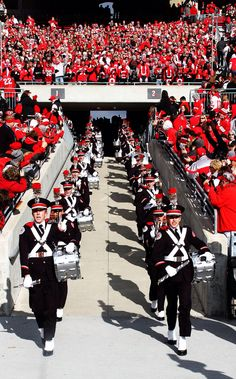 Osu marching band...always gives me chills when they come out!