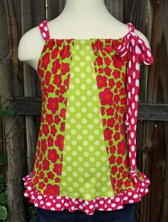 Mixed Up Ruffle Tank Top by fluffygirlboutique on Etsy, $24.99