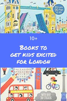 Books to Get Kids Excited for London. Activity sticker books, picture books and games about London that will get kids excited and help them learn about the city. Planet For Kids, Kids Around The World, Days Out In London, Things To Do In London, London Attractions, London Landmarks, London Activities, Activities For Kids, Where To Eat London