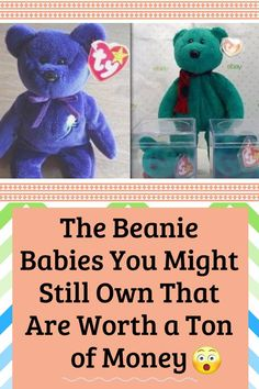e412245285d The Beanie Babies You Might Still Own That Are Worth a Ton of Money Beanie  Babies
