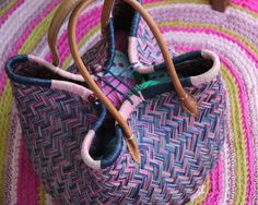 Pretty Bosaka basket is perfect for storing all your wool / yarn stash safely