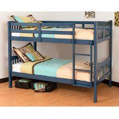 Storkcraft Caribou Bunk Bed, Navy $189
