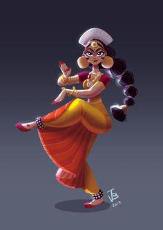 44 Ideas For Concept Art Animation Illustration Girl Cartoon, Cartoon Art, Cartoon Characters, Cartoon Drawings, Art Drawings, Pencil Drawings, Indian Illustration, Car Illustration, Character Illustration