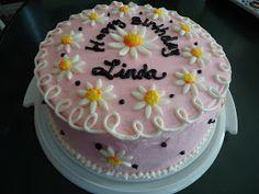 Cat's Cake Creations: Daisy Birthday Cake