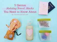 5 Holiday Travel Hacks that we can't do without!