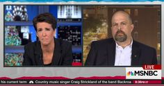 MSNBC's Rachel Maddow talks water crisis with Flint Journal editor