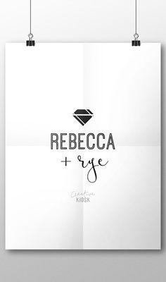 Diamond Logo. Jewelry Design. Logo. Instant by CreativeKiosk