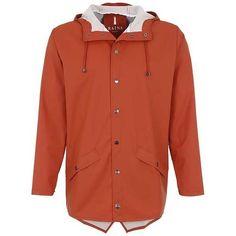 Parka rust ZALANDO ❤ liked on Polyvore featuring outerwear, coats, red parkas, rain parka, red coats, parka coat and red parka coat