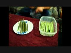 Wild Edibles: Cattail Flower Head, from the pond to the table.