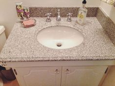 Spray Paint & Mascara : Updating an Old Vanity