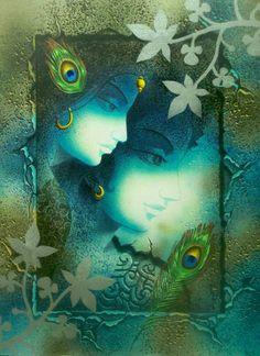 Radha Krishna by Prashanta Kr. Nayak