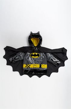 Western Chief 'Batman Everlasting' Light-Up Rain Coat (Toddler, Little Boys & Big Boys) available at #Nordstrom