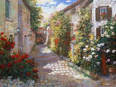 Cha Soo Griffith ~ Impressionist painter
