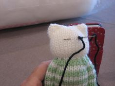 This is the time of year when I am madly knitting teddies for a couple of charities I support. Knitting Toys Easy, Knitting Bear, Knitting Dolls Free Patterns, Knitted Dolls Free, Teddy Bear Knitting Pattern, Beginner Knitting Patterns, Knitted Teddy Bear, Knitting Dolls Clothes, Loom Knitting